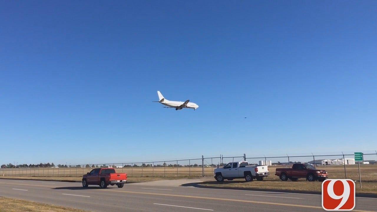WEB EXTRA: DOJ Plane Allowed To Land At WRWA