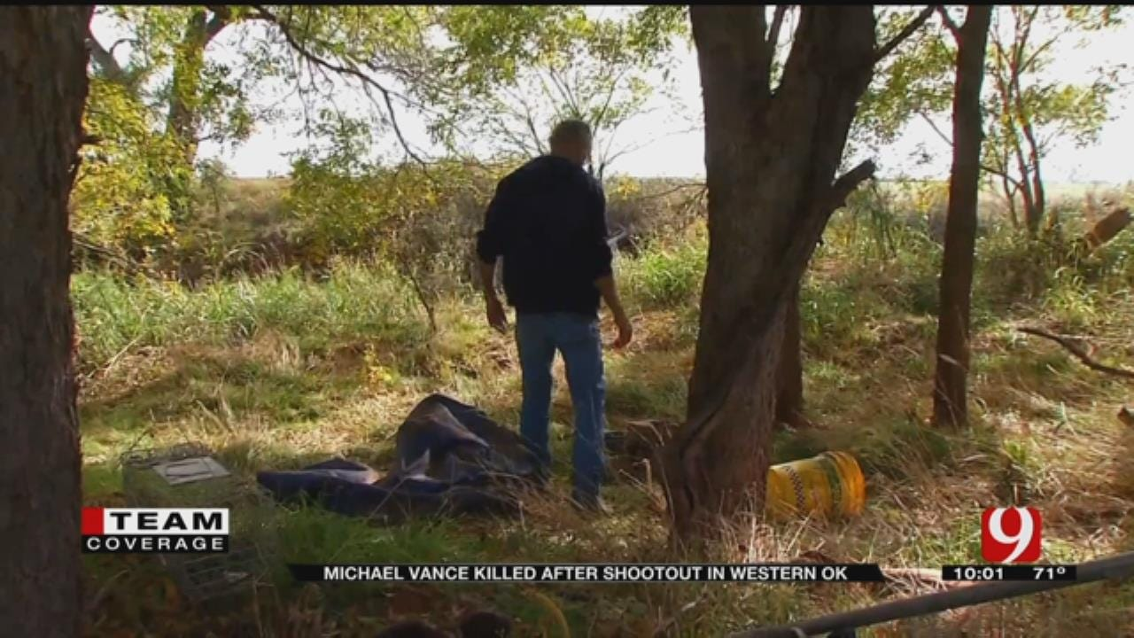 Manhunt For Michael Vance Ends In Fatal Shootout