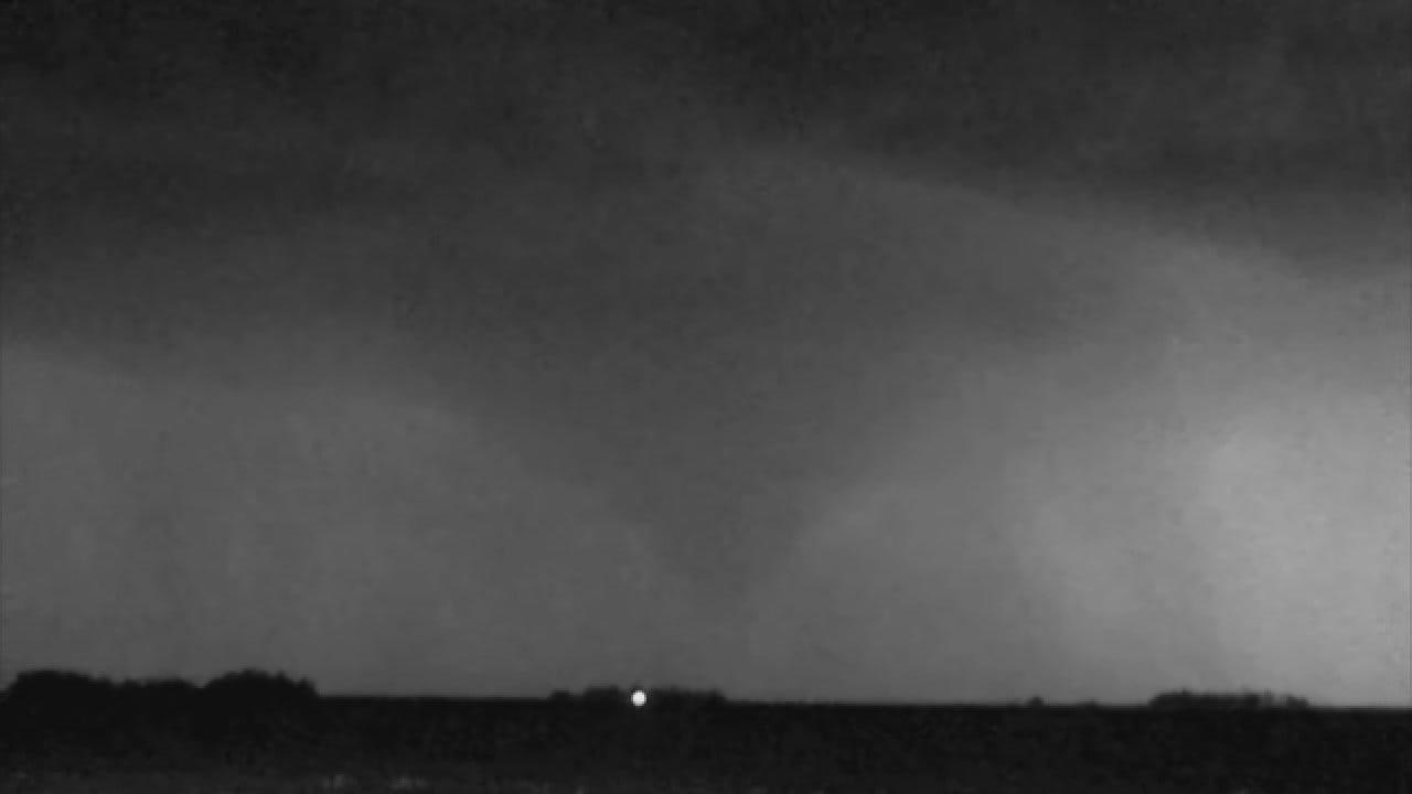 WEB EXTRA: Val And Amy Castor Spot A Tornado Near Carrier
