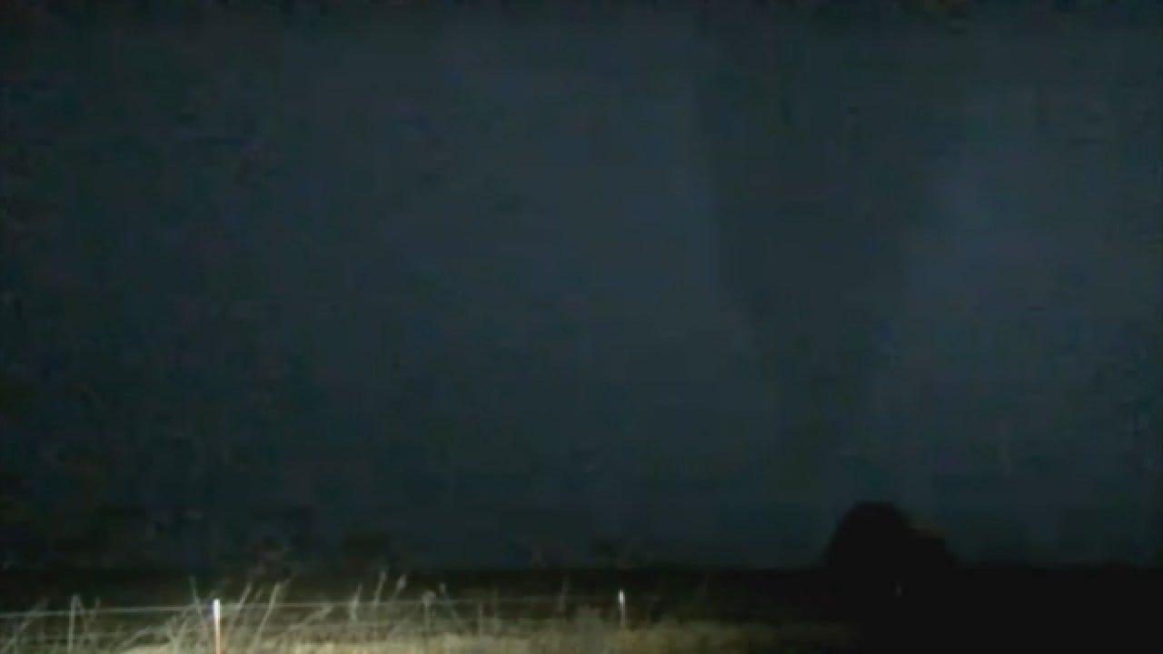 WEB EXTRA: Marty Logan Spots A Tornado Near Carrier