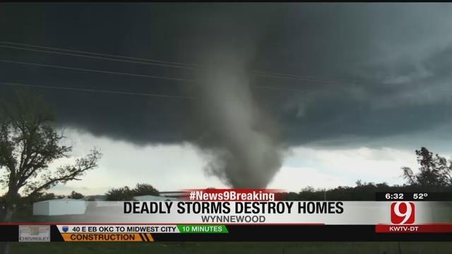 Justin Dougherty Reports On Garvin County Tornado Damage