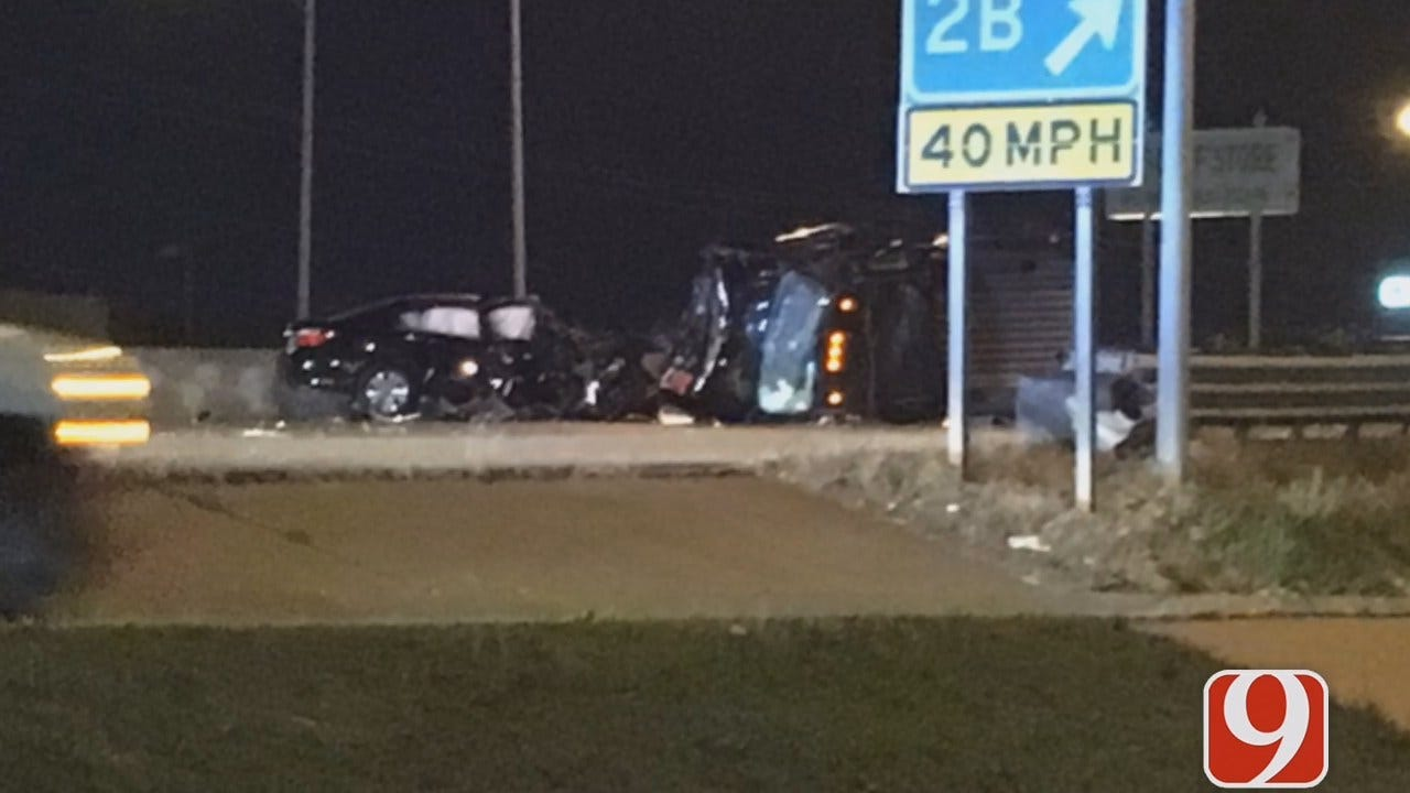 Wrong-Way Driver Causes Fatal Crash At I-240 In S. OKC