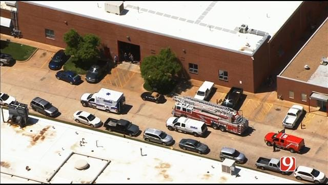 WEB EXTRA: SkyNews 9 Flies Over Industrial Accident At OKC Manufacturing Plant