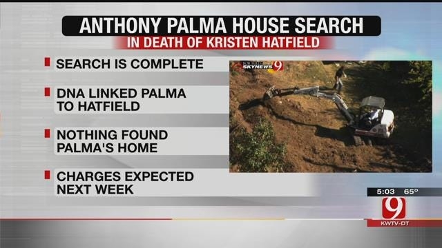 Search Concluded At Anthony Palma's MWC Property