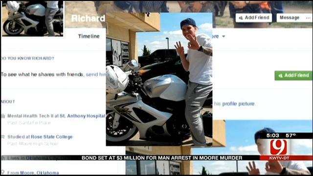 Bond Set At $3M For Man Arrested In Moore Murder