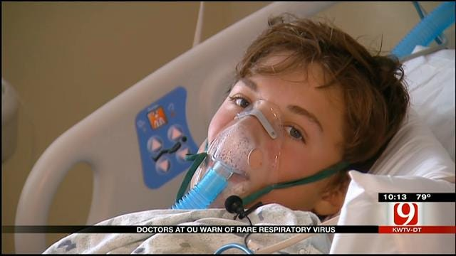 Doctors At Oklahoma Hospital Warn Of Rare Respiratory Virus