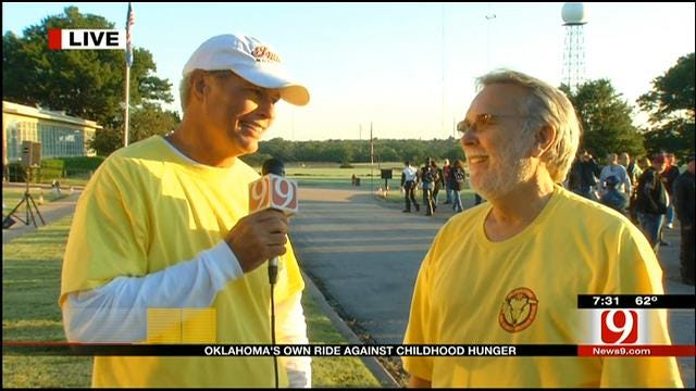 News 9's Stan Miller Visits With Rodney Bivens About The Backpack Program