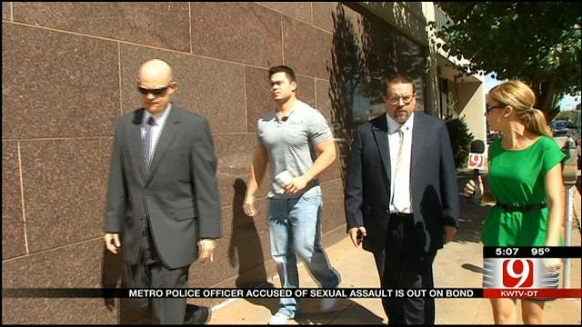 OKC Officer Accused Of Sexual Assaults Bonds Out Of Jail