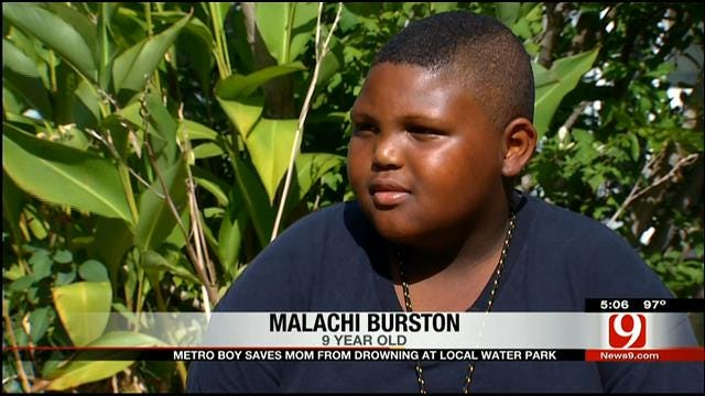 Boy, 8, Saves Mom From Drowning At OKC Water Park