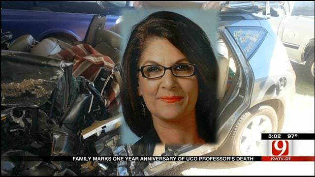 Family Marks Anniversary Of UCO Professor's Death At Hands Of DUI Driver