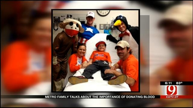 Yukon Family Stresses Importance Of Blood Donations