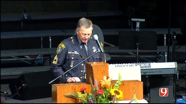 WEB EXTRA: OKC K-9 Officer Kye's Funeral Part II