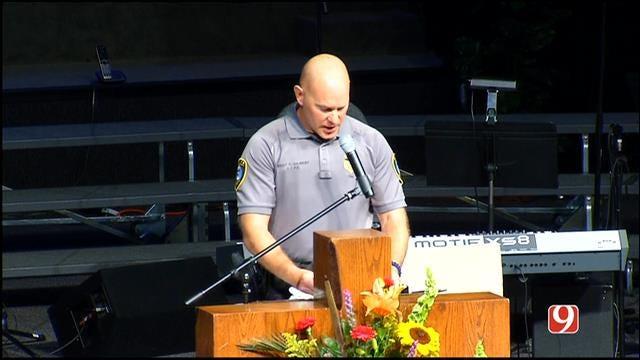 WEB EXTRA: OKC K-9 Officer Kye's Funeral Part I
