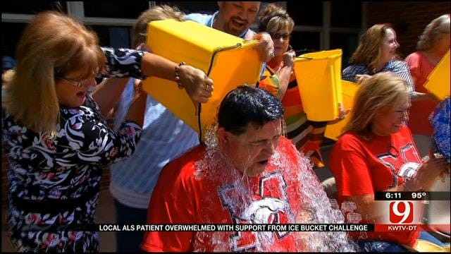 Local ALS Patient Overwhelmed With Support From Ice Bucket Challenge