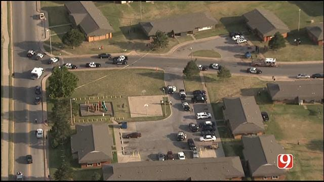 Suspect In Custody After Double Shooting In SW OKC