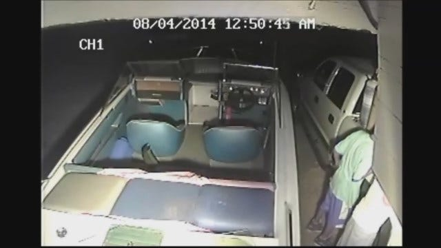 WEB EXTRA: Surveillance Video Of OKC Auto Burglary