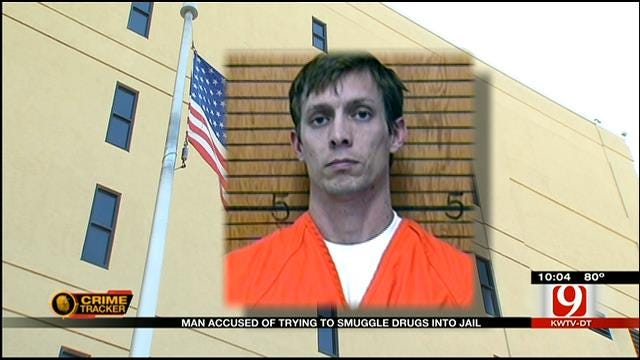 Man Accused Of Trying To Smuggle Drugs Into Grady County Jail