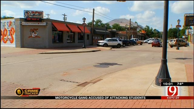Motorcycle Gang Accused Of Attacking Students In Stillwater