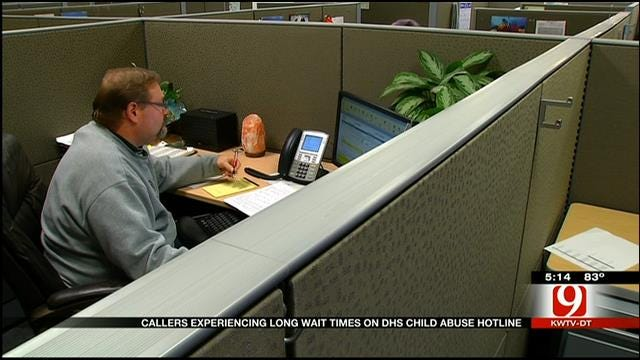 Callers Experience Long Waits On OKDHS Abuse Hotline