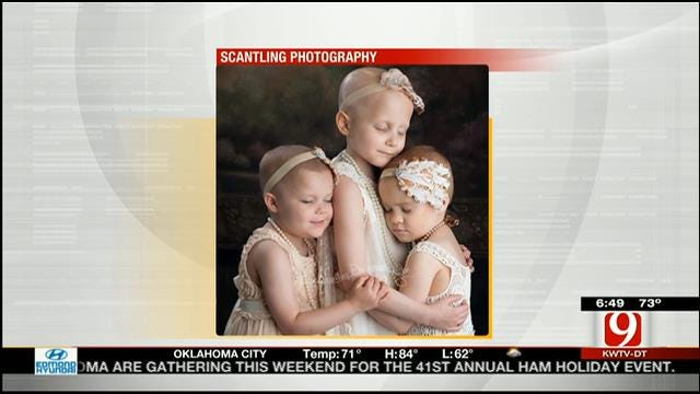 OK Young Cancer Patients Featured In Viral Photo Now In Remission