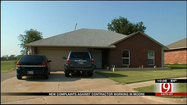 New Complaints Leveled Against Contractor Working In Moore
