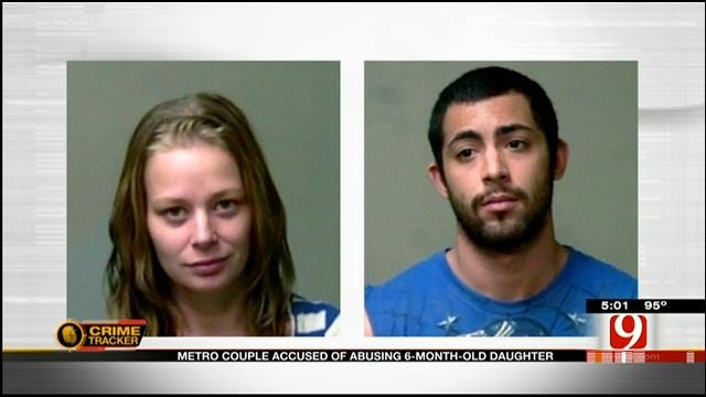 OKC Couple Accused Of Abusing 6-Month-Old Daughter