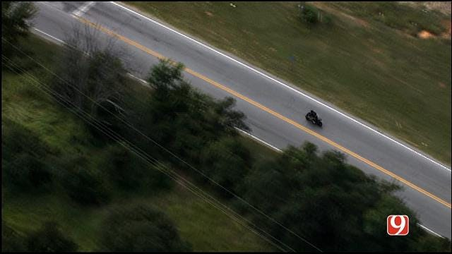 WEB EXTRA: SkyNews 9 Flies Over High-Speed Chase Involving Motorcycle