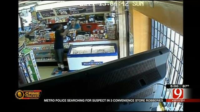 Crook Hits Three Convenience Stores In Less Than A Week
