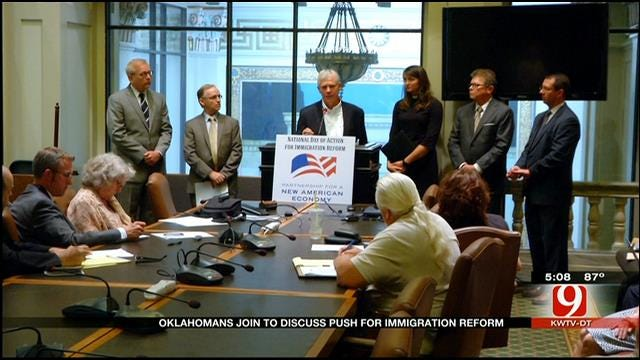 Oklahomans Join To Discuss Push For Immigration Reform