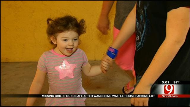 Mom Of Toddler Found Wandering SW OKC Parking Lot Speaks Out