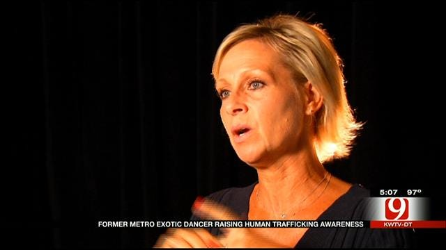 Former Oklahoma Stripper Speaking Out Against Human Trafficking