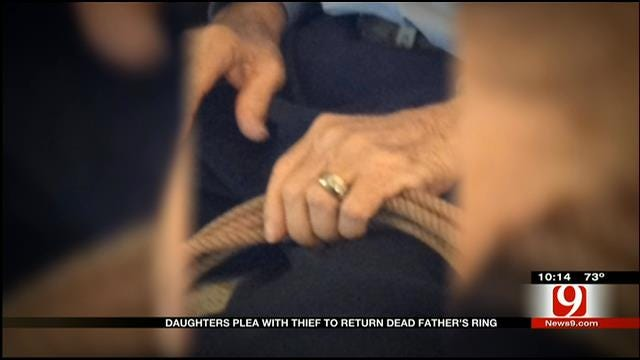 Daughters Plea With Thief To Return Dead Father's Ring