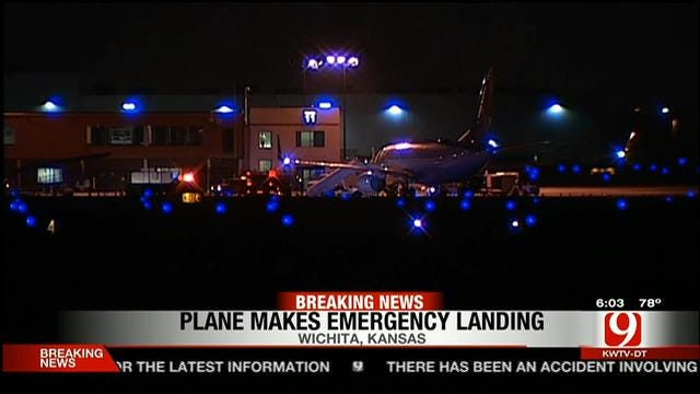 Passenger Jet Slide Malfunction Forces Emergency Landing In Wichita