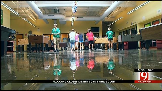Boys & Girls Club Flooding Affects Hundreds Of Children