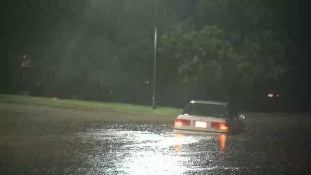WEB EXTRA: Oklahoma City Street Flooding