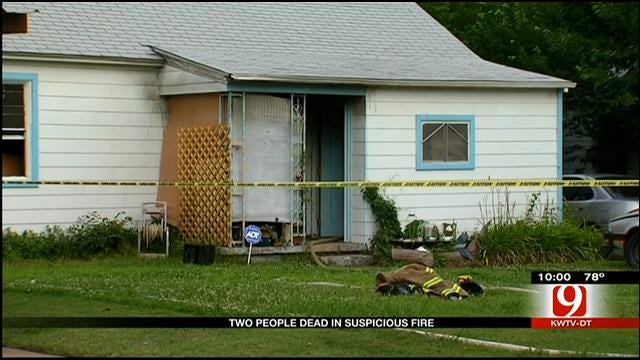 Midwest City Police Investigates Deadly House Fire
