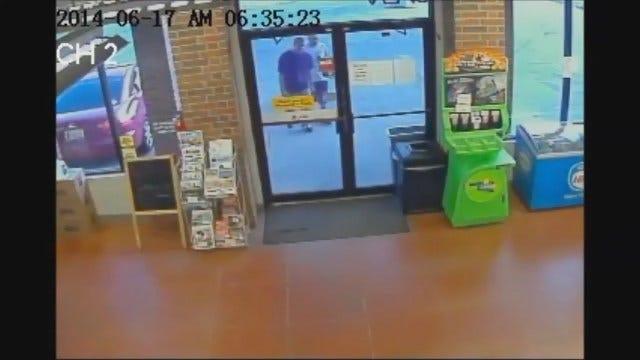 WEB EXTRA: OKC Convenience Store Robbery, Stabbing