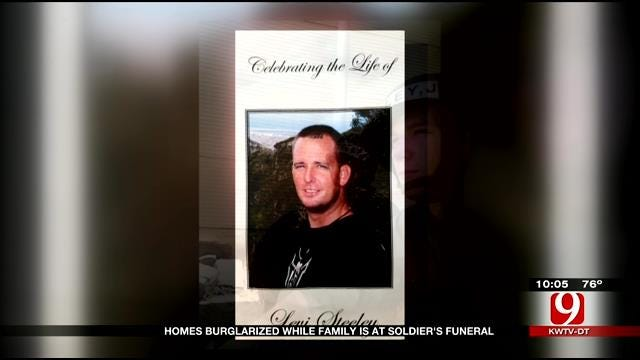 Homes Burglarized While Family Is At Soldier's Funeral