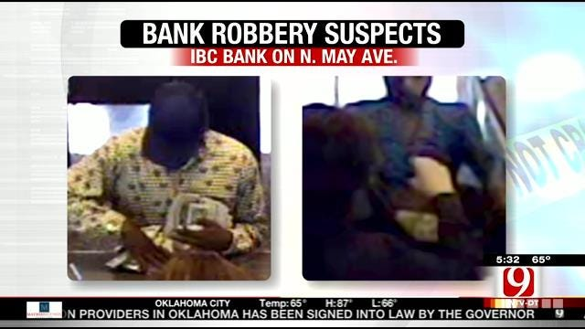 FBI Seeks Two Suspects In NW OKC Bank Robbery