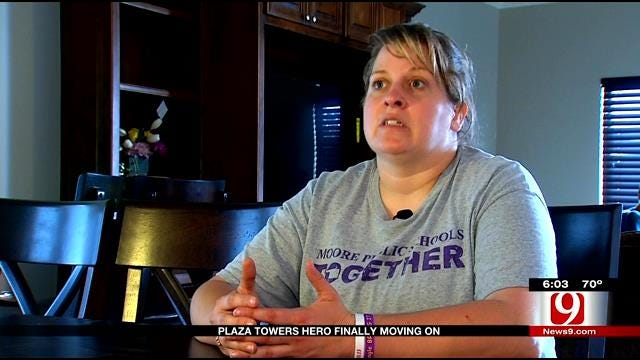 Plaza Towers Hero Finally Moving On