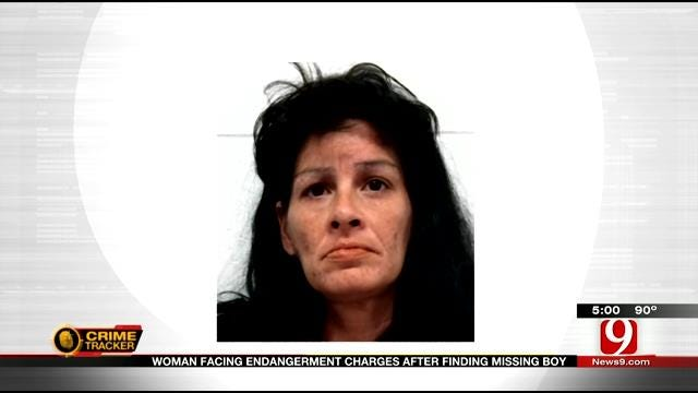 Del City Woman Facing Endangerment Charges After Finding Missing Boy