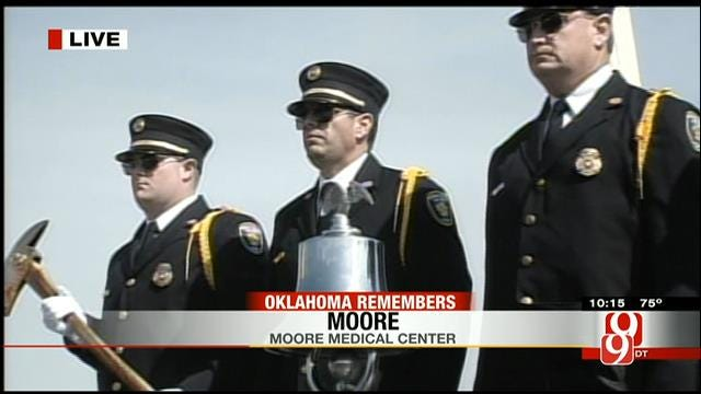 Bell-Ringing Ceremony Remembers 25 Lives Lost During Moore Tornado