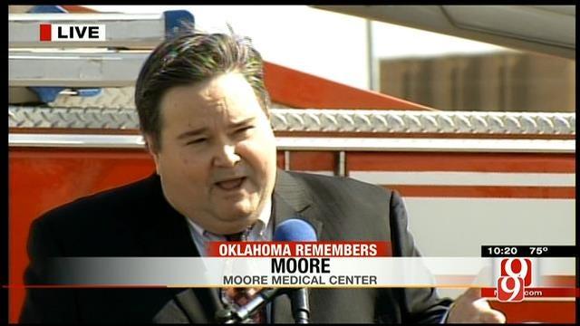 Moore Mayor Speaks At Tornado Remembrance Ceremony