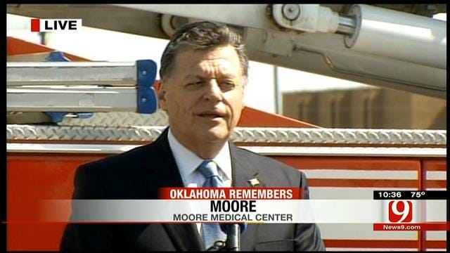 U.S. Rep. Tom Cole Joins Moore Community Remembrance Ceremony