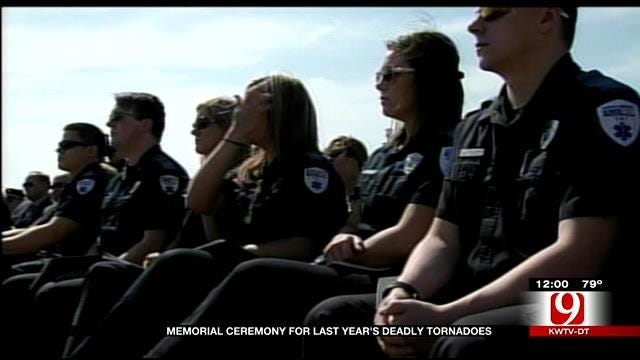 Ceremony Honors Moore Tornado Victims, Marks 1 Year Anniversary