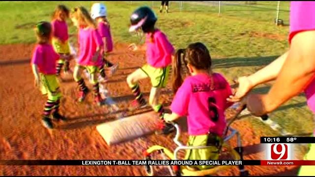 Lexington Special Needs Athlete Finds Home With T-Ball Team