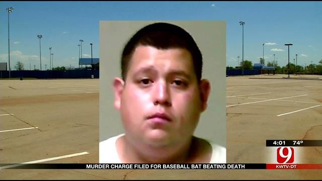 Man Charged With Murder In OKC Baseball Bat Beating Death