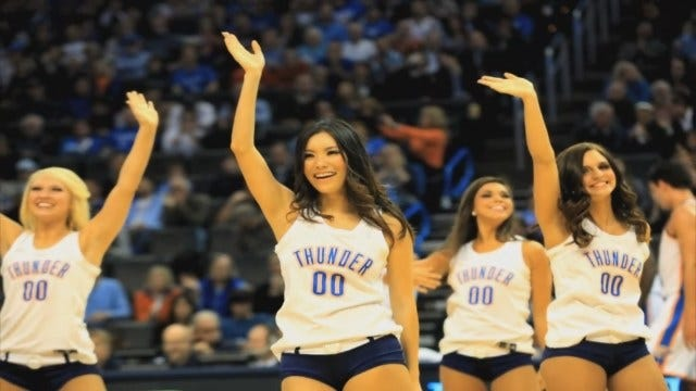 Japanese Dancer Travels Across The World To Cheer For The Thunder