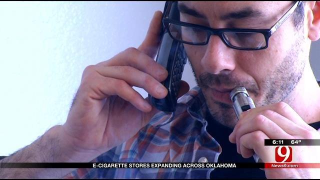 E-Cigarette Stores Expanding Across Oklahoma