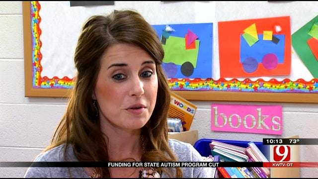 Funding For Oklahoma Autism Program Cut